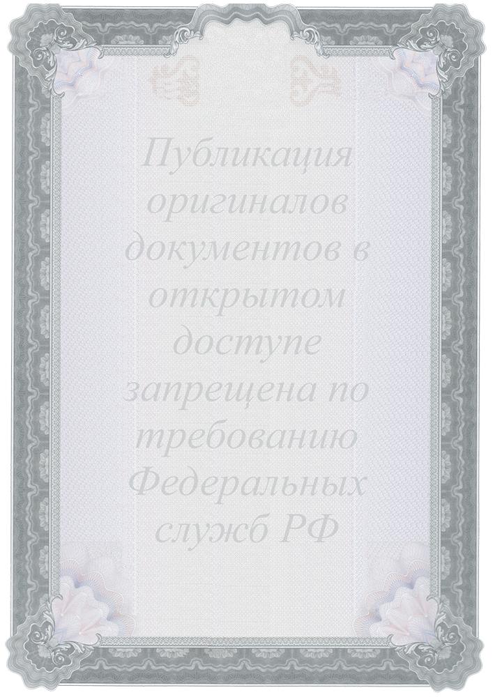 Лицензия на проведение работ, связанных с созданием средств защиты информации.